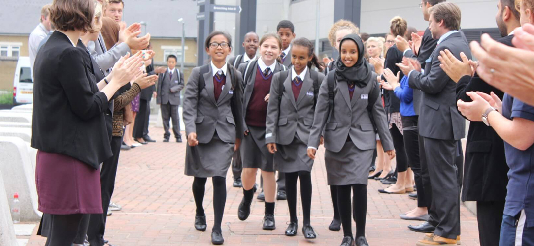 Students at Hammersmith Academy