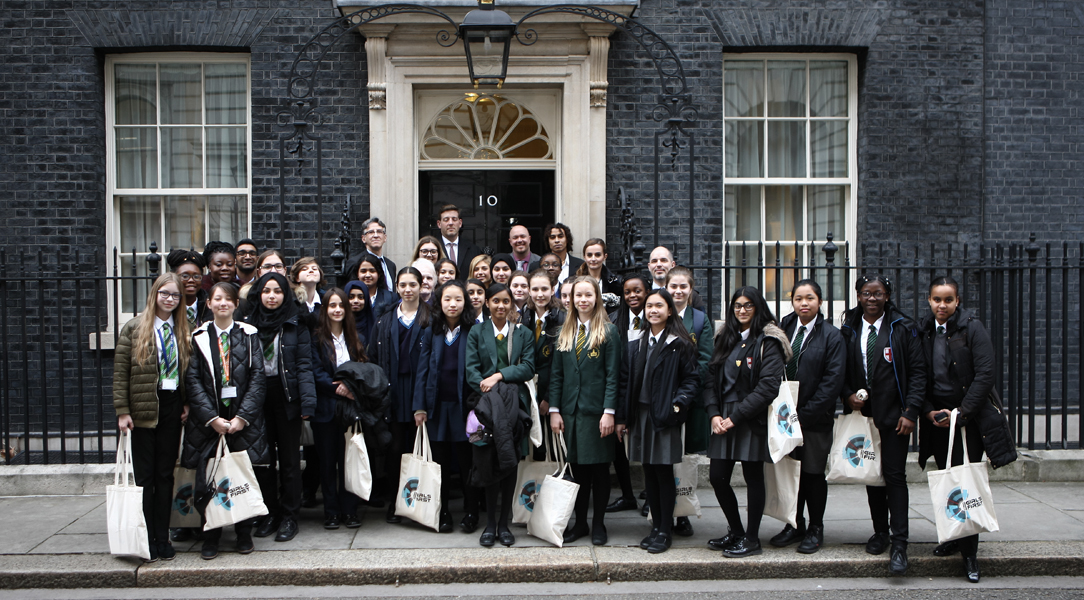 Young women have the opportunity to learn about tech careers from Cyber Girls First
